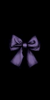 リボンシリーズ(やや明るいグレー紫)