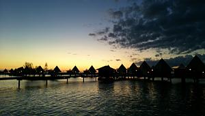 ニューカレドニア水上コテージ
