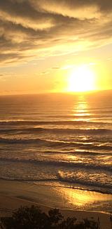 Gold Coast ゴールドコースト 朝焼け