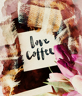 LOVE COFFEE チューリップ