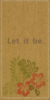 #41 Let it be.【あるがままに】ハイビスカス