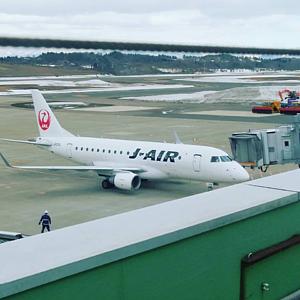 秋田空港より
