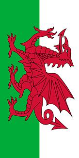 旧国旗 ウェールズ