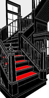 門司港駅の階段