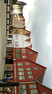ベルゲンのブリッゲン地区