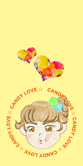 kaho_candy(イエロー)