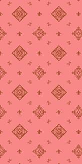 ピンク&ブラウン