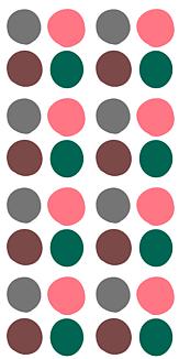 丸団子 ピンク緑