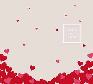 FALL IN LOVE手帳ケース