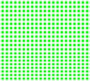 格子模様(緑)
