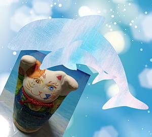 海猫だにゃー笑
