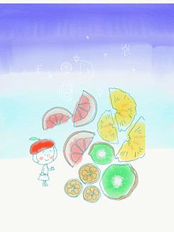 フルーツティー(バタフライピー)