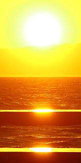 夕日 海 太平洋