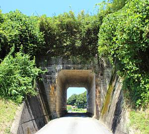 自然 トンネル