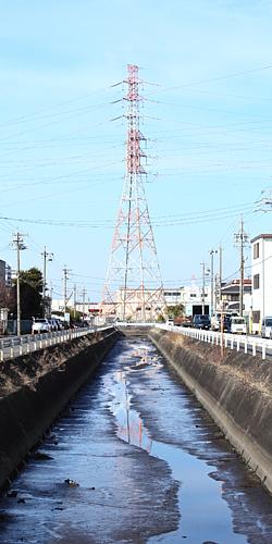 工業地帯 川