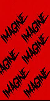 赤色 IMAGINE ロゴ LOGO