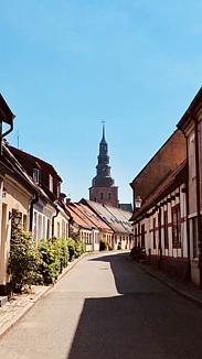 北欧の港町