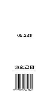 King&Prince 高橋海人 バーコード シンプルケース