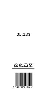 King&Prince 平野紫輝 バーコード シンプルケース