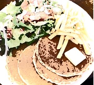 お食事パンケーキ イラストテイスト2ver