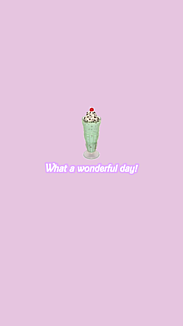 What a wonderful day!