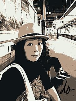 『帽子の女性Bー2ー①』~dotto~