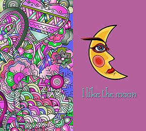 『お月さまが好き②』