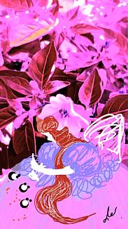 〔野菜の花の精②〕