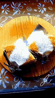 『アールグレイとキャラメルのシフォンケーキ』②