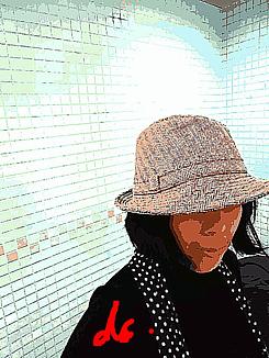 『帽子の女』②