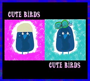 『可愛い鳥さん⑤』