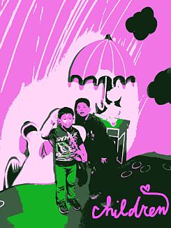 ~children~ピンク系