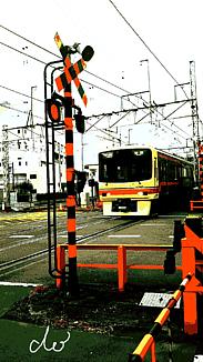 〈電車♢①〉