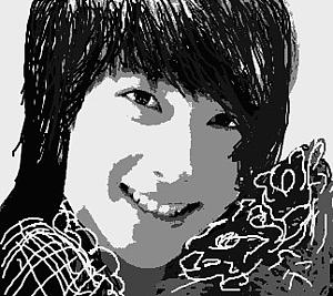 『笑顔の女性』③