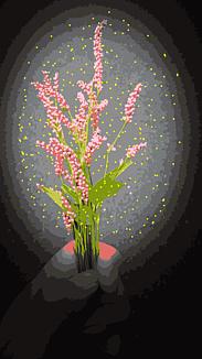 『可憐な野花』ピンク系