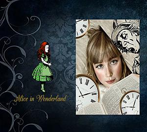 『不思議の国のアリス』