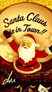 『クリスマスサンタ』①