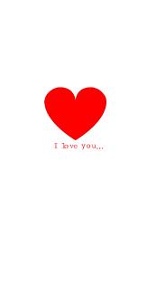 ペアiPhoneケース ~I love you~