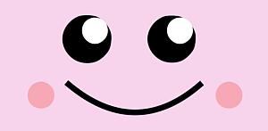 カエル・ピンク