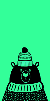 ノルディック クマ グリーン