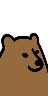 クマ ケース ホワイト2