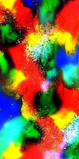 ネオン。イルミネーション。抽象画スマホケース18
