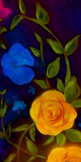 お花 - 水彩画②
