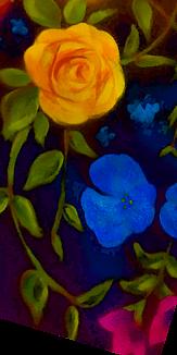 お花 - 水彩画⑤