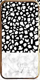 ダルメシアン×大理石×メタル