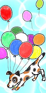 Happy Balloon Dog