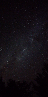 満天の星空。2