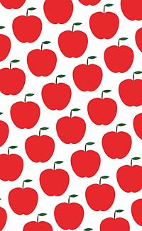 りんごのスマホケース