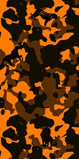 カモフラアニマル(オレンジ)