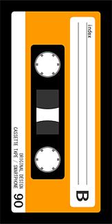 カセットテープ オレンジB面